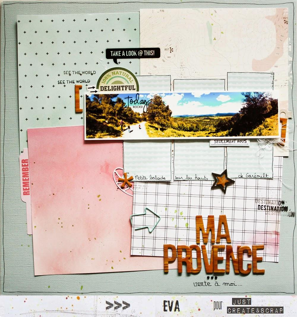 Ma Provence  #DT Just Create & Scrap