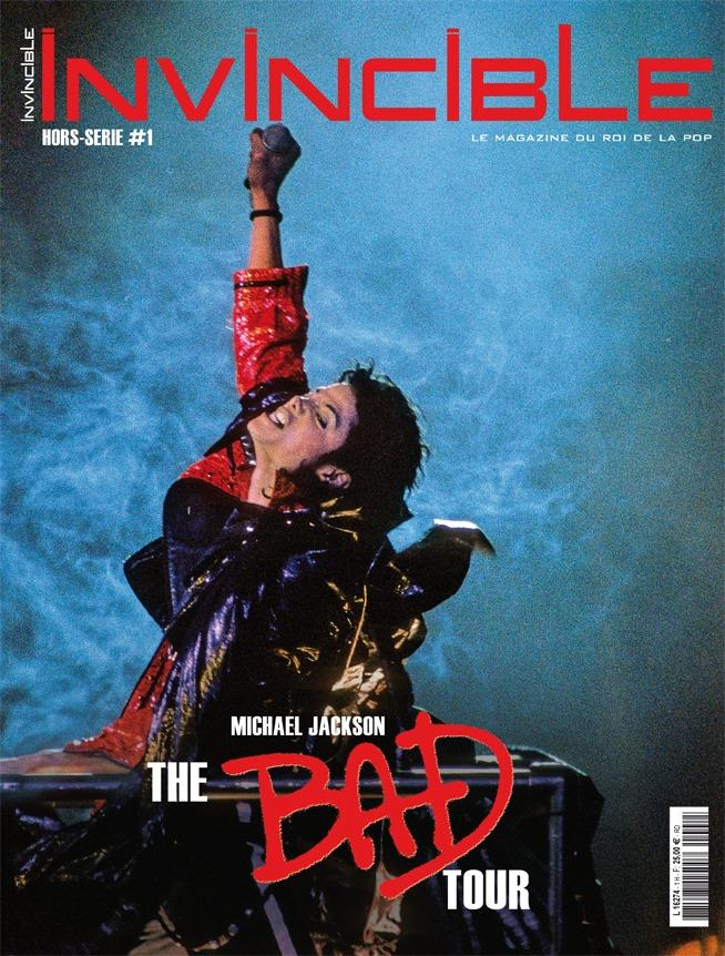 INVINCIBLE Magazine-Hors série BAD TOUR