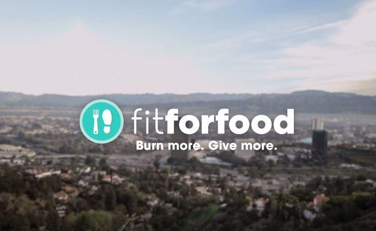 FitForFood: brulons 1 milliard de calories et Fitbit fera un don d'1,5 millions de dollars à une association