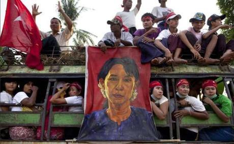 Aung San Suu Kyi parmi les 10 femmes les plus admirées au monde