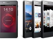 premier smartphone Ubuntu vente semaine prochaine Europe partir 170€