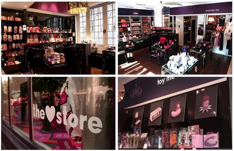 Passsage du Désir boutique love store Paris