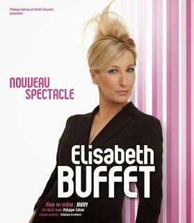 THEATRE: Nouveau Spectacle d'Elisabeth Bufffet, moules et buffet à volonté / Nouveau Spectacle by Elisabeth Bufffet, mussels and all-you-can-eat buffet