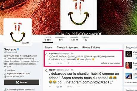 Soprano aimerait participer à D&CO avec Valérie Damidot sur M6