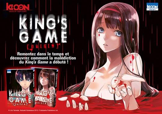 Trailer Manga: King's Game Origin