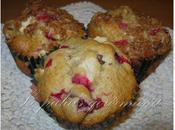 Muffins croustillants pommes canneberges
