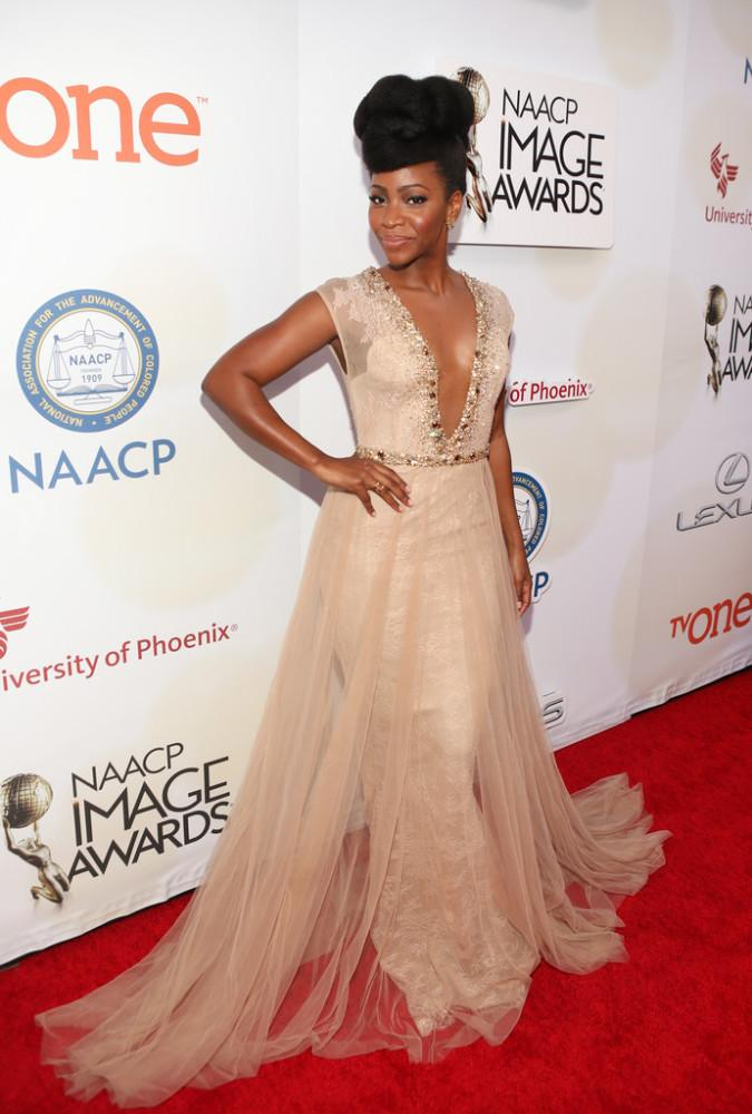 Tapis Rouge : photos & looks de nos people aux NAACP Awards 2015