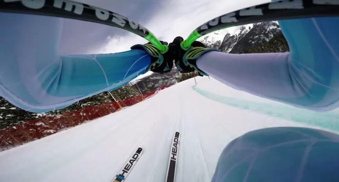 La descente vertigineuse de Ted Ligety en GoPro