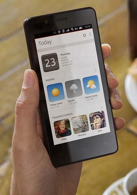 Bq Aquaris E4.5, le premier smartphone au monde sous Ubuntu