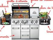 plus d'un barbecue professionnel
