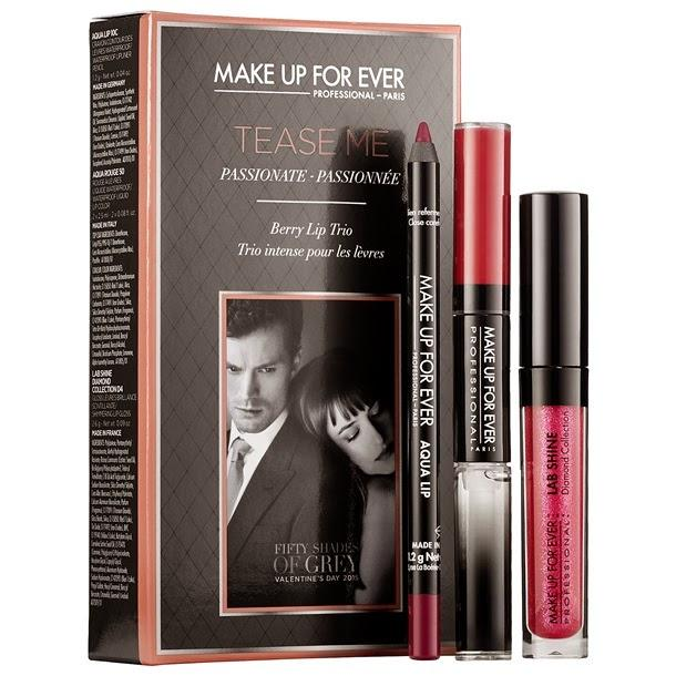 Édition limitée: « Fifty Shades of Grey » par Make Up For Ever
