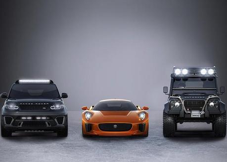 Jaguar et Land Rover, stars du prochain James Bond
