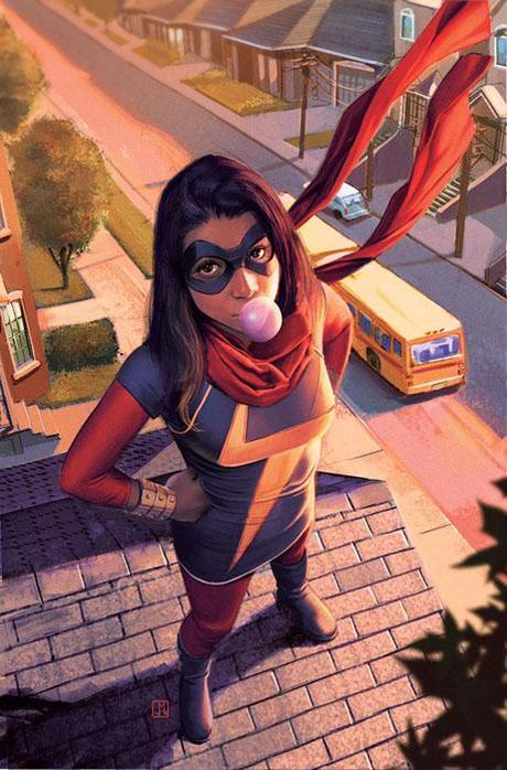 critique de comics miss marvel tome 1