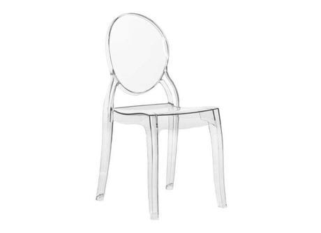 Chaise Elizabeth transparente sur Achat design