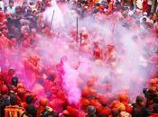 endroits pour assister célébration d'Holi Inde