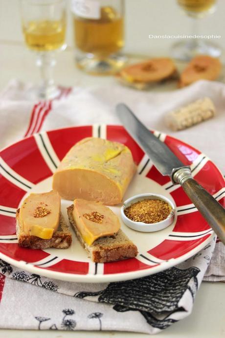 {Be my Valentine} Toasts de foie gras mi-cuit au piment d'Espelette