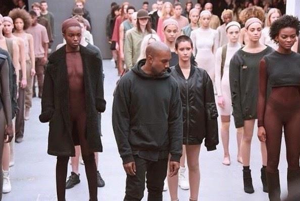 36e3376ed612d La présentation de la collection de Kanye West pour Adidas à la fashion  week de New