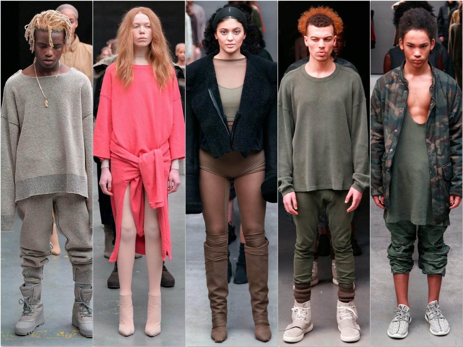 e01e907bf6c21 ... La présentation de la collection de Kanye West pour Adidas à la fashion  week de New