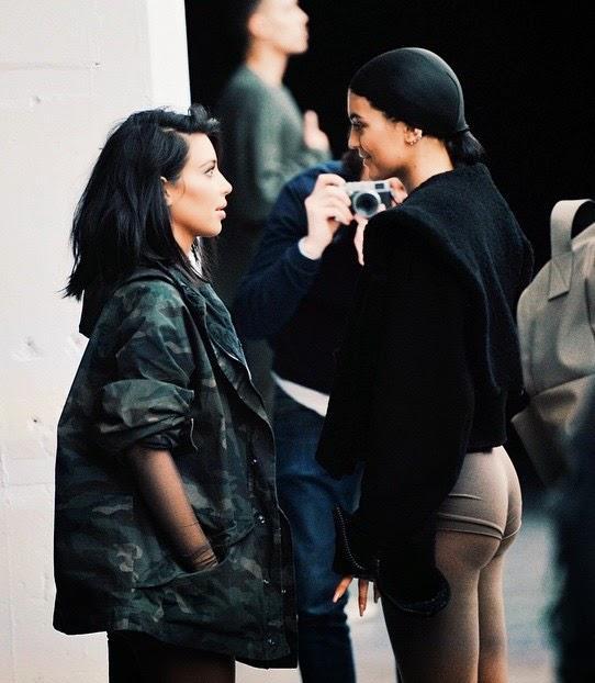 af8b82dd53d39 ... La présentation de la collection de Kanye West pour Adidas à la fashion  week de New ...