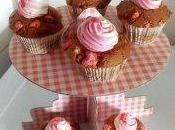 muffins pralines rose chantilly coco