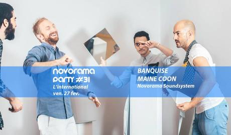 31ème soirée Novorama à l'international / vendredi 27 février