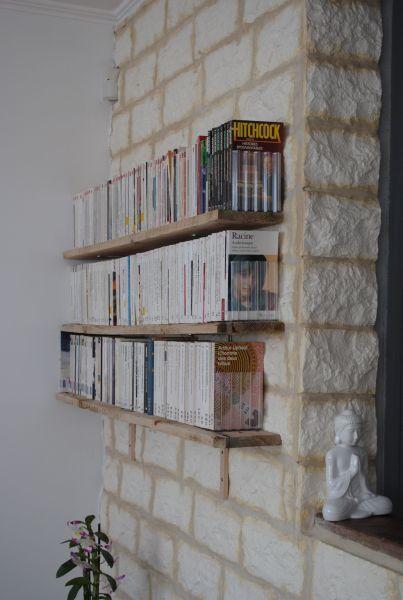 d co des tag res pour livres de poche paperblog. Black Bedroom Furniture Sets. Home Design Ideas