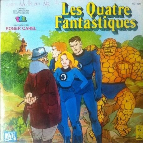 Nostalgie : «Les Quatre Fantastiques» raconté par Roger Carel