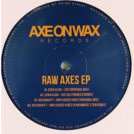 Axe On Wax 004 – Raw Axes EP