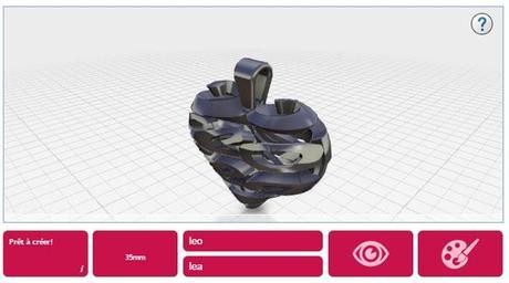 crée ton bijou en impression 3D