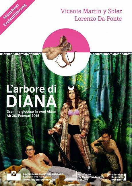 L´Arbore di Diana: l´Académie August Everding monte un opéra de Martin y Soler au Prinzregententheater