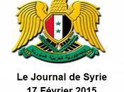 VIDÉO. Journal Syrie 17/02/2015. Washington souhaite solution politique