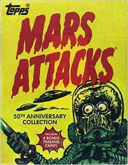 Mars attacks 50's anniversary : a collector item !