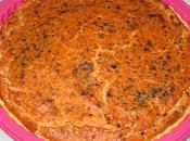 Tarte thon, maïs,tomate olives