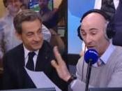 Nicolas Canteloup imite Sarkozy alors dernier entre dans studio
