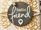 Hello friend...une carte pour #SKC