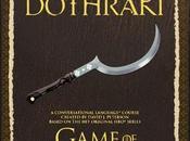 livre pour apprendre Dothraki afin bien préparer retour série Game Thrones