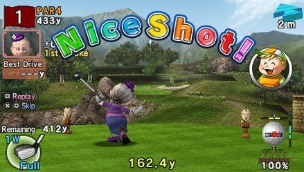 Everybody'S Golf 2 sur Sony PSP