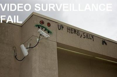 Video Surveillance Fail