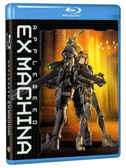 Appleseed : Ex Machina , DVD Blu-ray