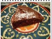 Fondant chocolat compote pommes (sans beurre)