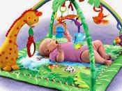 testé tapis d'éveil Jungle Fisher Price