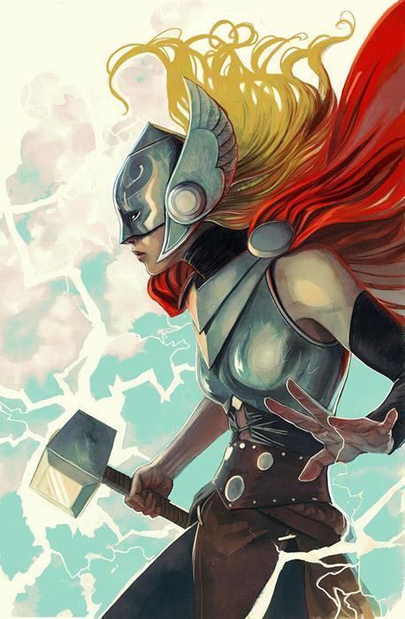 Thor par Stephanie Hans
