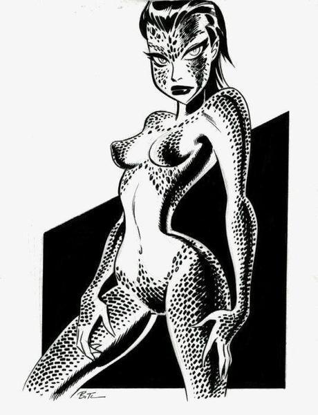 Mystique par Bruce Timm