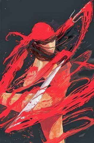 Elektra par Mike Del Mundo
