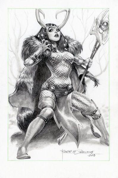 Lady Loki par Rags Morales