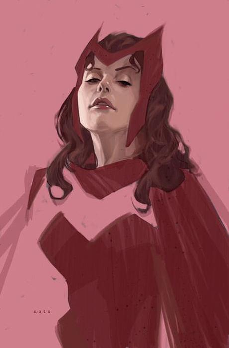 Scarlet Witch par  Phil Noto