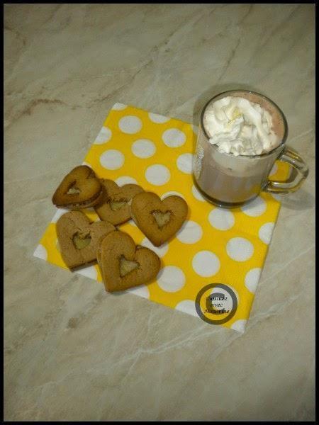 Biscuits fourrés à la vanille