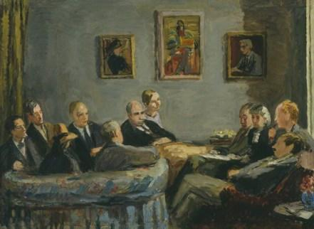 NPG 6718; The Memoir Club by Vanessa Bell (nÈe Stephen)
