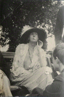 Virginia Woolf (1923, Photographie de Lady Ottoline Morrell)