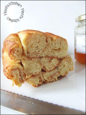 brioche spirales beurre cacahuète   (4)